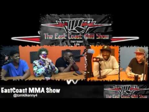 East Coast MMA Show 5 12 15 Jarrel MillerCarlos Brooks