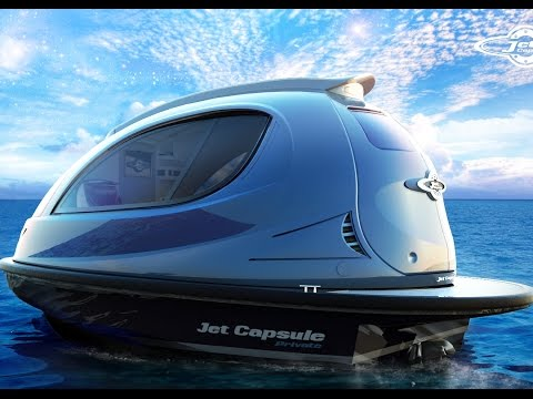 World's Smallest Luxury Yacht - Jet Capsule