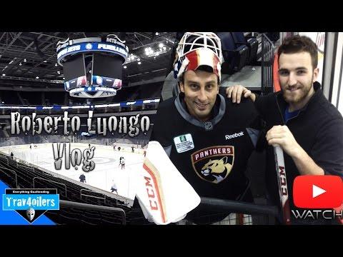 Meeting w/ Roberto Luongo | Panthers Morning Skate