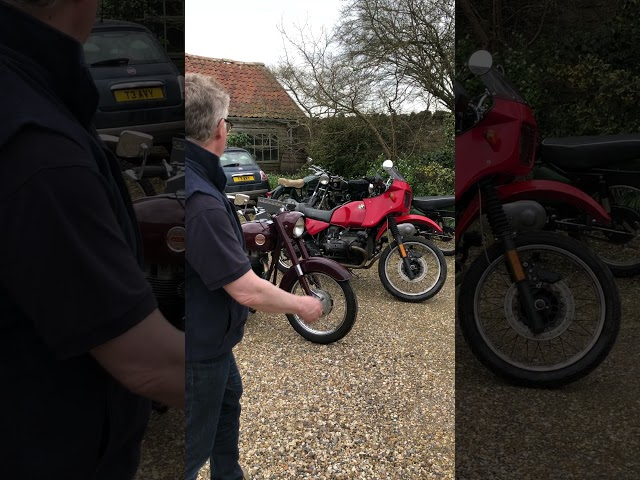 Motorbikes in Charterhouse June Auction 2021