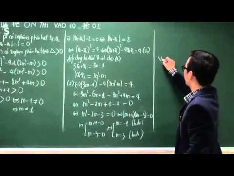 Đề thi thử lớp 10 môn toán 2015 có lời giải chi tiết