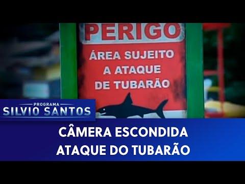 Ataque de Tubarão   Câmeras Escondidas (20/07/14)