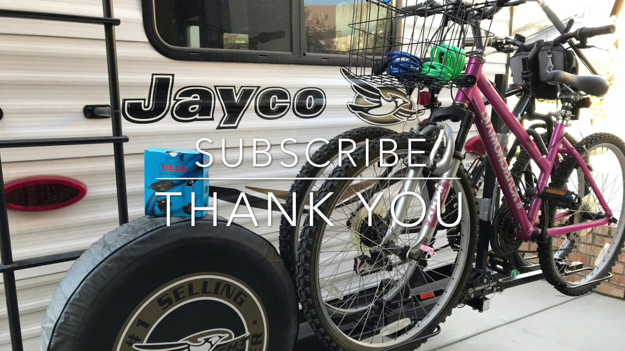 Receiver Hitch Bike Rack >> Jayco Travel Trailer How to install Bumper Hitch Adapter ...