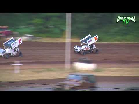 8 25 18 Cottage Grove Speedway Limited Sprint cars Dash