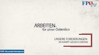Eine Chronologie der konstruktiven FPÖ-Vorschläge zur Corona-Krise!
