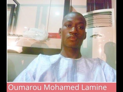 Oumarou Mohamed Lamine, radio reporter, Mali