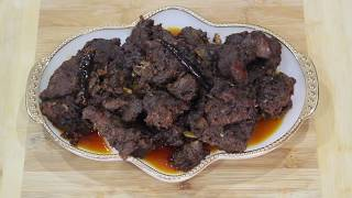 বাবুর্চি স্টাইলে কালা ভুনা /Beef kala vuna