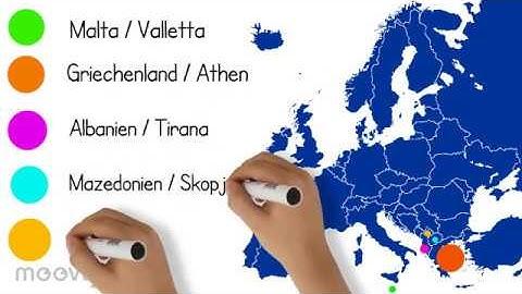 Europa: Länder und Hauptstädte