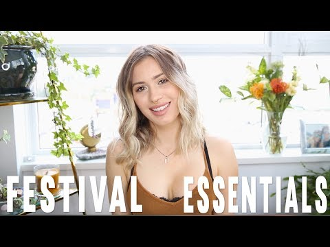 ULTIMATE FESTIVAL ESSENTIALS |  Karissa Pukas