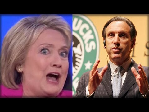 GUESS WHO'S BACK! STARBUCKS CEO JUST DECIMATED HILLARY'S ENTIRE CAMPAIGN WITH THIS ONE WORD…