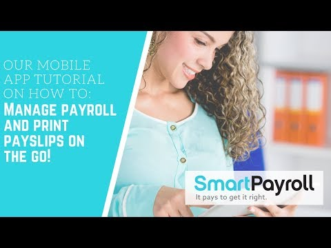 My SmartPayroll App (The Employees App) | Manage Payroll and Print Payslips On The Go