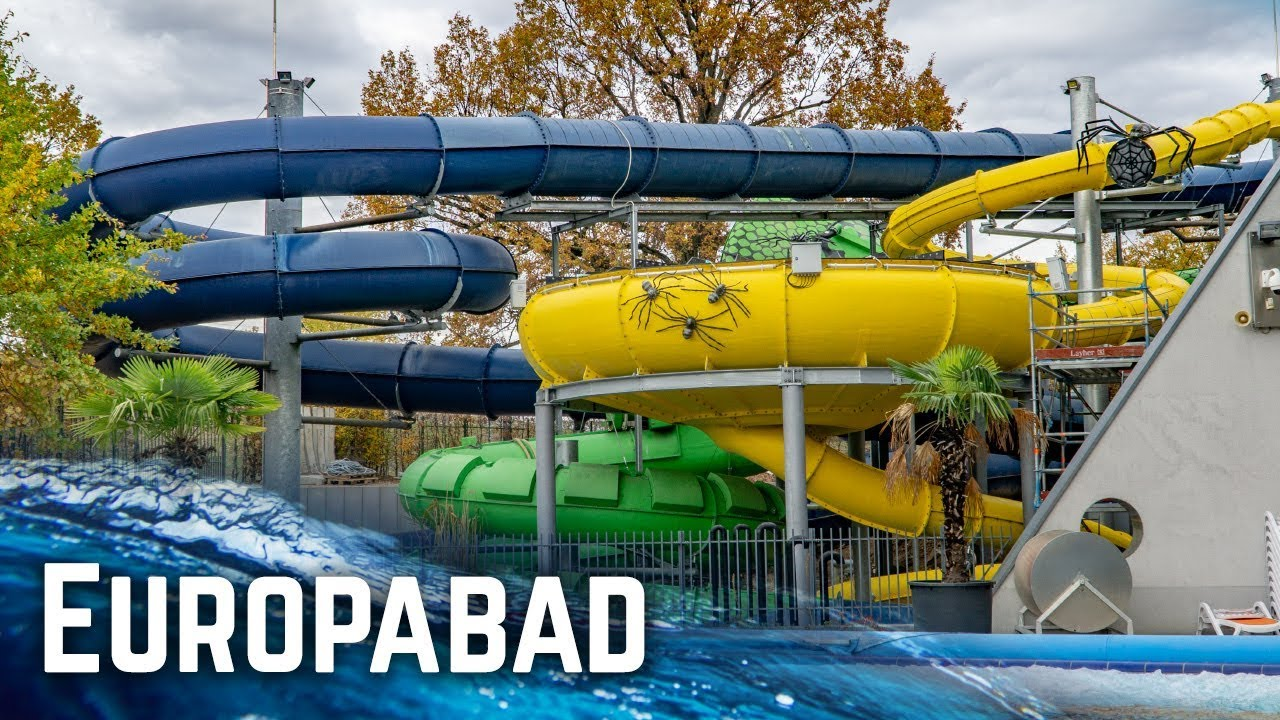 All Water Slides At Europabad Karlsruhe Germany 2018 Edition