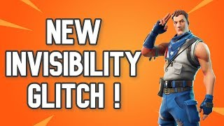 NEW Invisible Glitch Found In Fortnite!