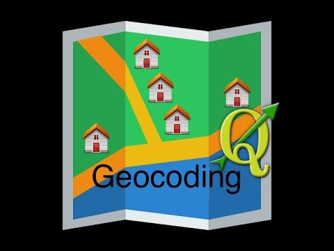 Geocoding is easy with QGIS