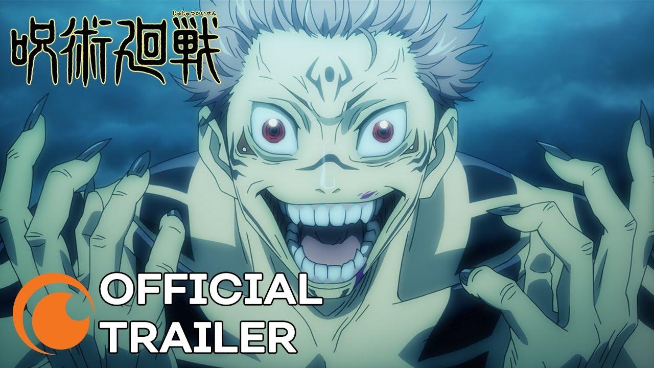 Jujutsu Kaisen Official Trailer Youtube