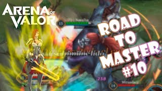 MI MEJOR ULTIMATE EN ARENA OF VALOR ROAD TO MAESTRO 10  Navalha - Arena of Valor