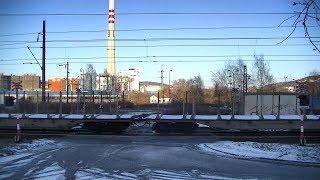 Spoorwegovergang Trmice (CZ) // Railroad crossing // Železniční přejezd
