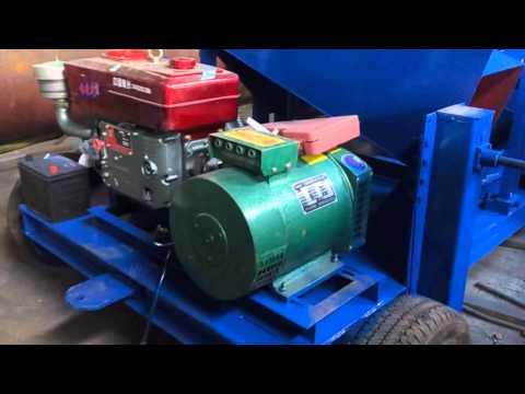 JXSC Mobile Vibrating Screen Mining Machine