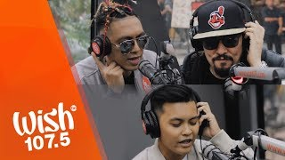 "Blaze N Kane (feat. Pow Chavez) perform ""Fly Away"" LIVE on Wish 107.5 Bus"