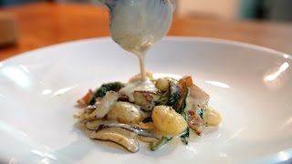 Best Gnocchi with Shiitakes  SAM THE COOKING GUY