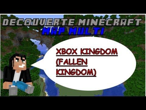 Découverte Minecraft - Map multi Xbox Kingdom (Fallen Kingdom) - Xbox 360