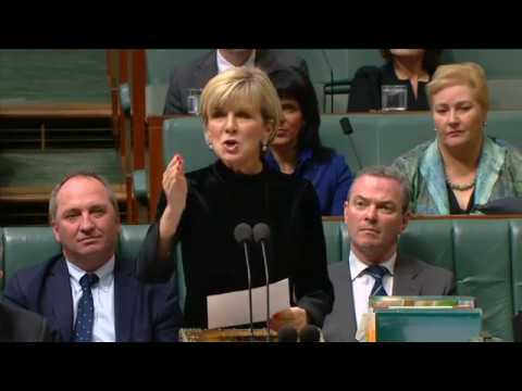 Julie Bishop Accuses Labor of Colluding With 'Foreign Power' to Undermine Government