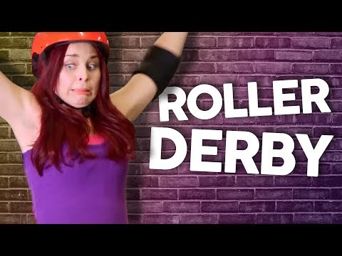 Trying Roller Derby for the First Time?! (Get Jacked)