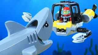 Lego Ocean Adventure NinjaGo vs Largest Shark Episode2