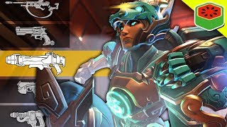 BACKWARDS GUN GAME! | Overwatch Custom Game thumbnail