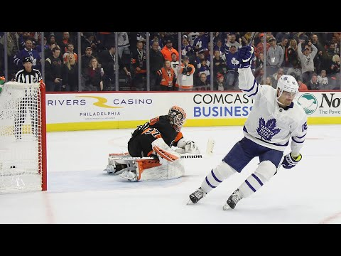 Maple Leafs And Flyers Go The Distance In 11-round Shootout