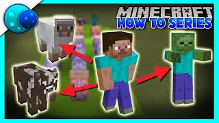 How To Morph Into Any Mob Using Commands! On Minecraft Bedrock Edition!