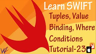 Switch with Tuple Value Binding and Where Condition in Swift - Tutorial 23