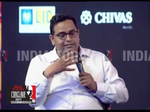 Paytm CEO, Vijay Shekhar Sharma On The e-Economy | India Today Conclave 2017