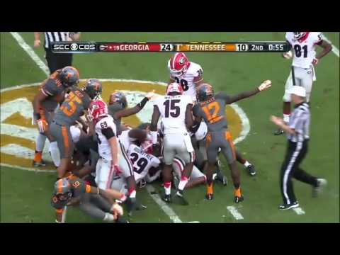 Tennessee Volunteers vs. Georgia Bulldogs 2015 *abridged*