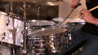 Rogers Dynasonic Snare Drum Played By Ken Loomer-Part 2