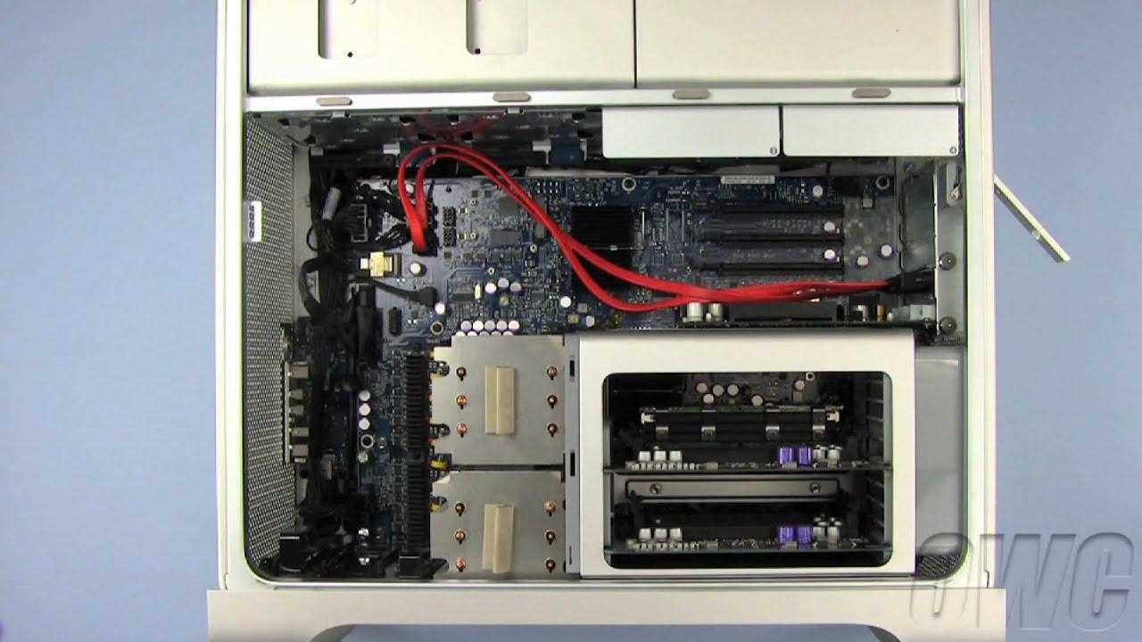 Mac Pro Pre 2008 Esata Extender Cable Installation Video