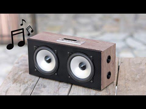 How To Make a Bluetooth Speaker |100w Boom Box