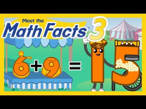 Meet the Math Facts Level 3 - 6+9=15