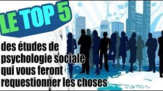 Le top 5 des études de psychologie sociale qui vous feront requestionner les choses thumbnail