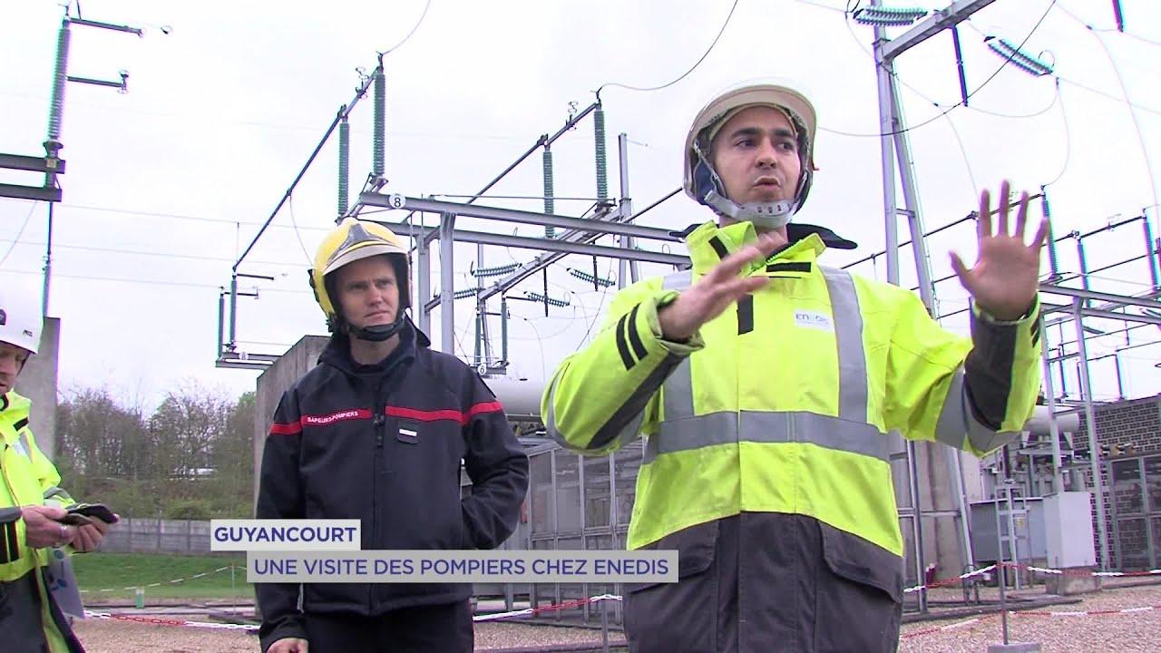 Yvelines | Guyancourt : Une visite des pompiers chez Enedis