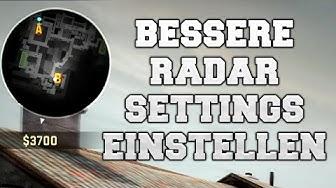 CS:GO -  Bessere Radar Settings einstellen