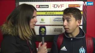 Dijon 1-2 OM | Réaction de Maxime Lopez !