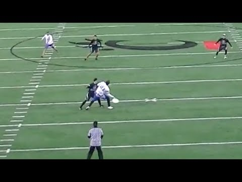 Brodie Smith's 75 Yard Forehand to AJ Nelson (AUDL's First Point)