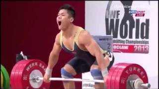 Lu Xiaojun at 2013 World Weightlifting Championship