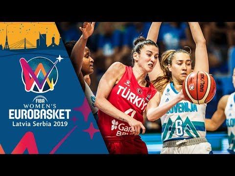 Slovenia v Turkey - Highlights - FIBA Women's EuroBasket 2019