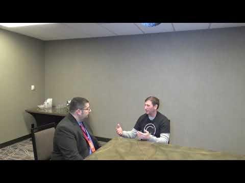 Richard Jacobs Interviews CEO Alex at the Bitcoin Super Conf.