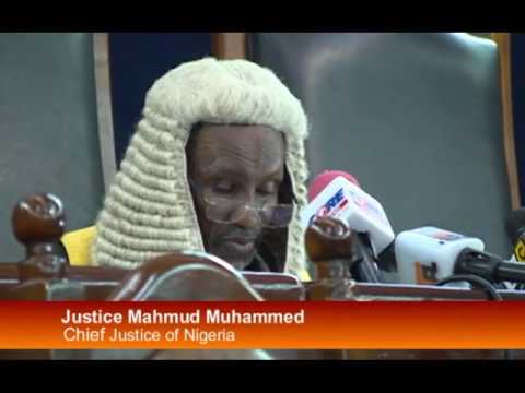 Chief Justice Of Nigeria Opens New Legal Year