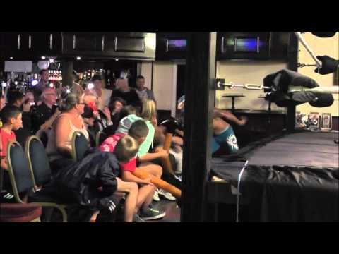 KGW Wrestling : UK Sin Cara VS. Joey Divine.