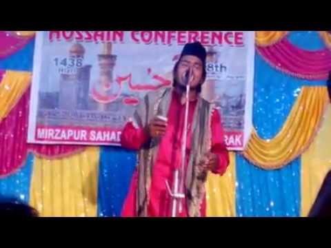 Nadeem Faizi Madhupuri NEW KALAM 2017    Madine Main Hai    New Naat 2017