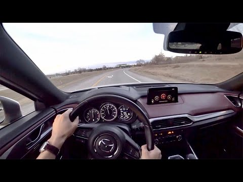 2018 Mazda CX 9 Signature POV Test Drive Binaural Audio